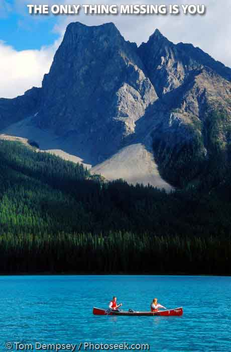wonder lake yoho national park bc