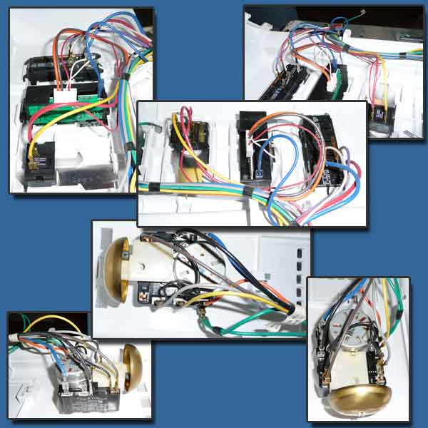 maytag dryer control panel wires