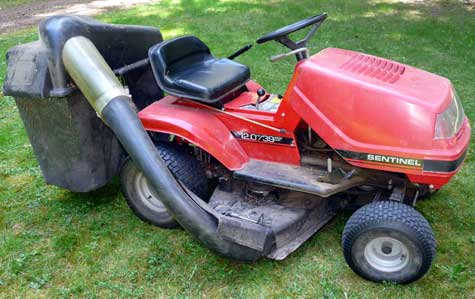 donated randsco rider mower