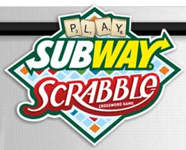 subway scrabble contest